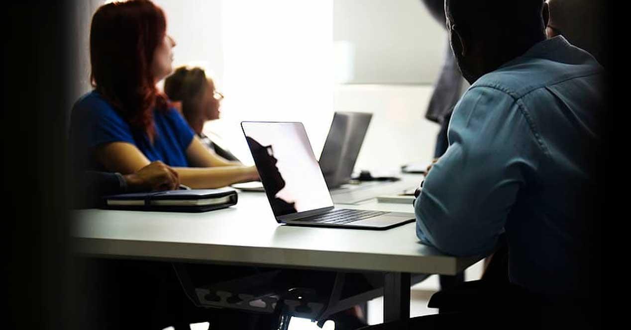 Reunión portátiles PC