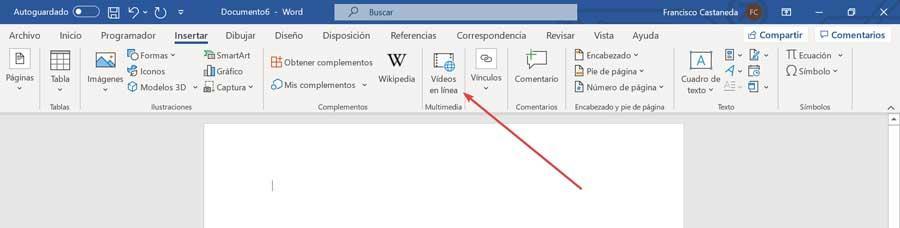 Word vídeos en línea