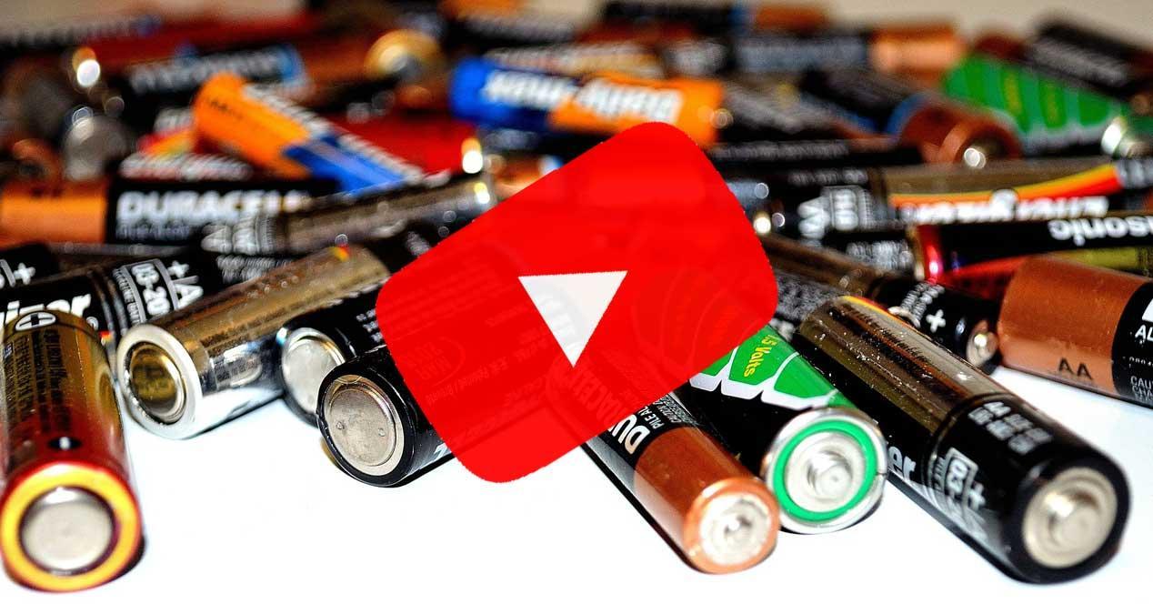 baterias youtube