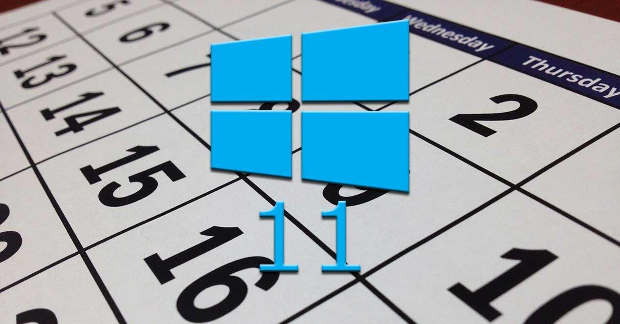 calendario win11