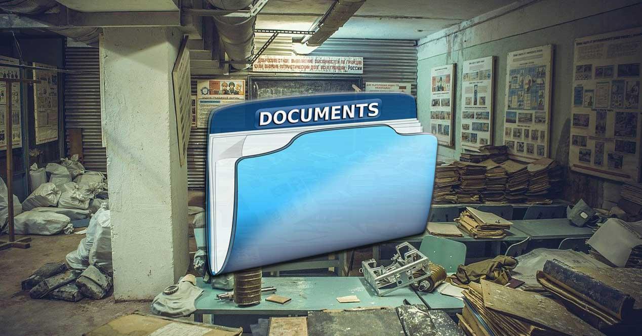 explorador documentos