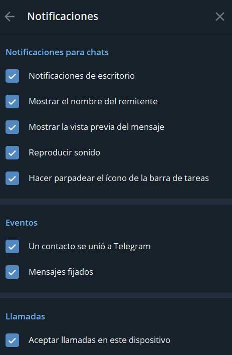 notificaciones Telegram