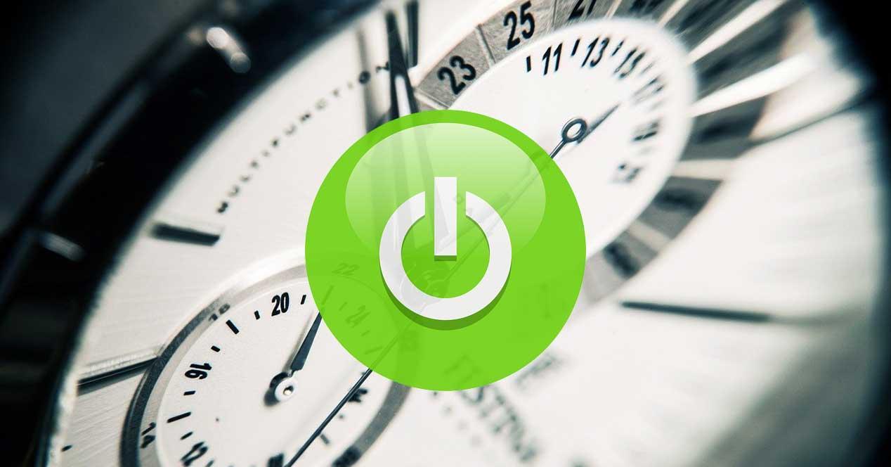 reloj apagar