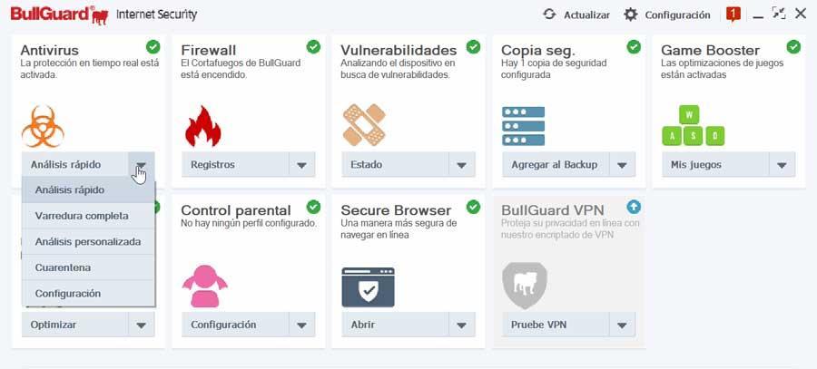 BullGuard Internet Security Antivirus