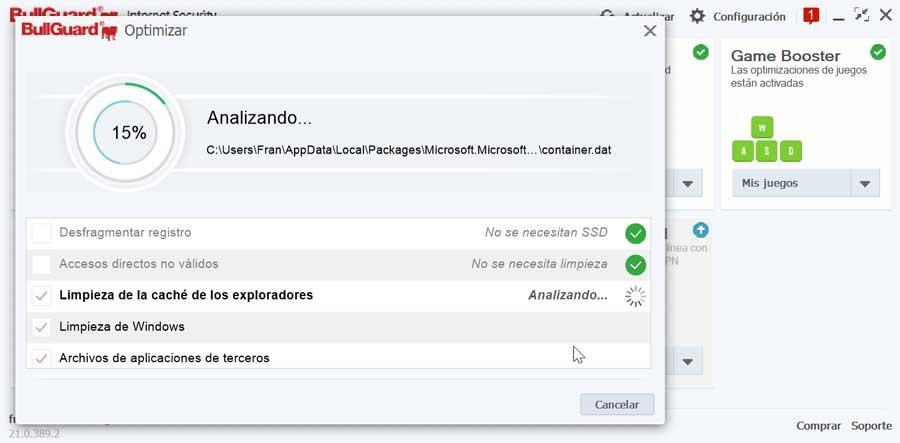 BullGuard Internet Security puesta a punto del PC