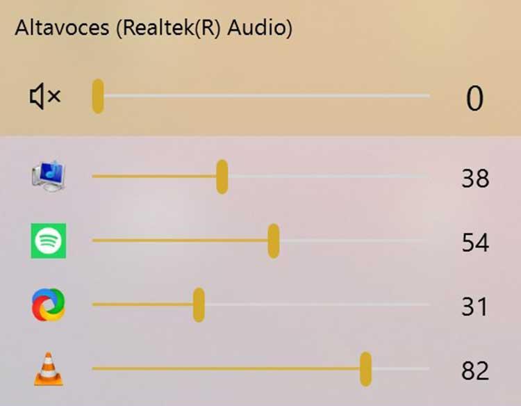 EarTrumpet controlar volumen por apliación