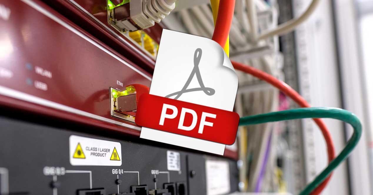 PDF router edge