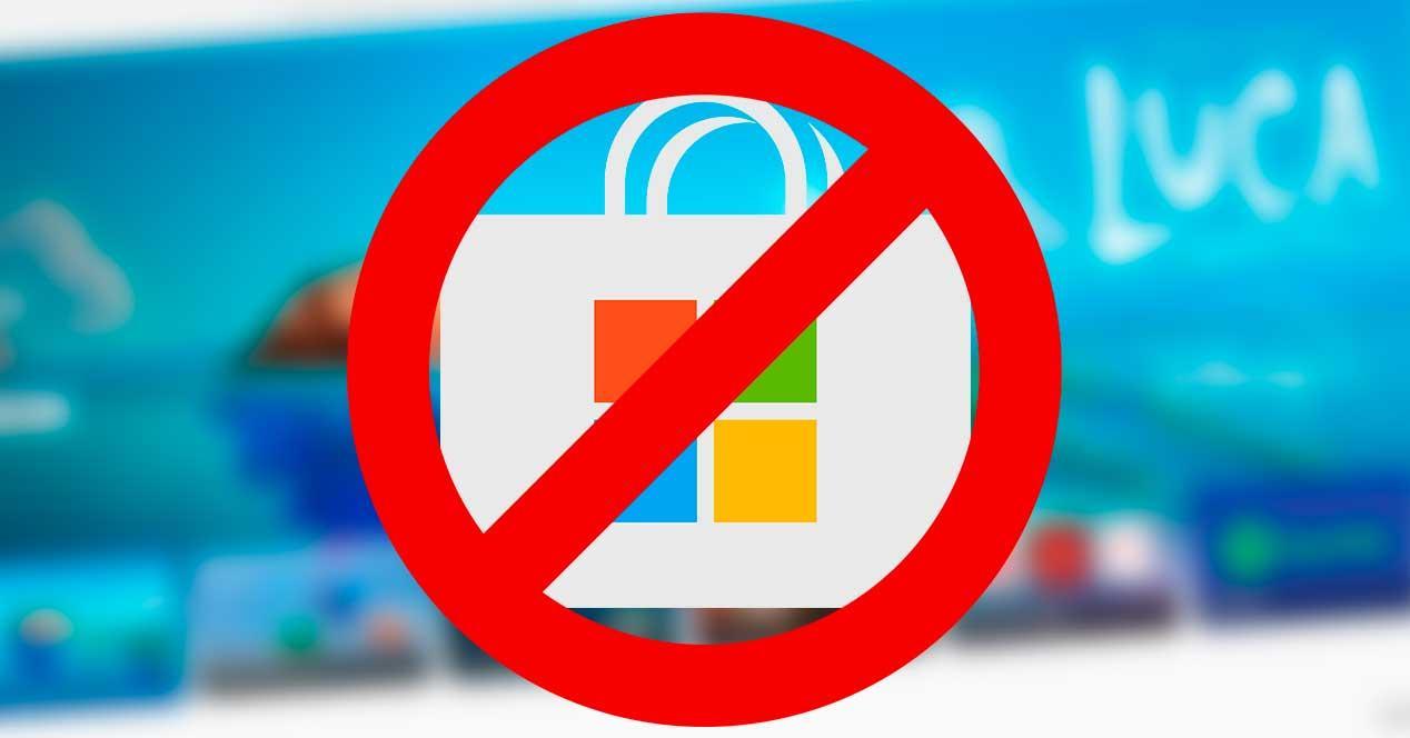 Prohibir tienda Windows