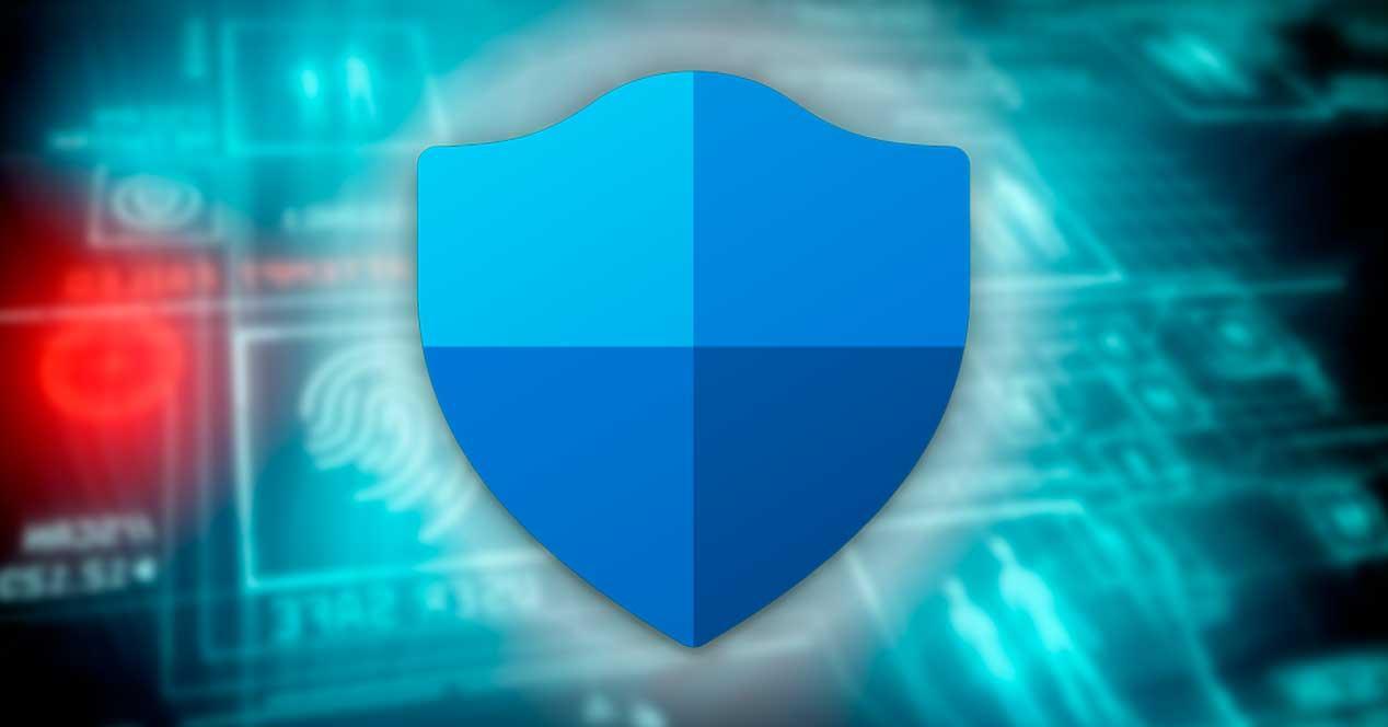 Protección seguridad Windows Defender