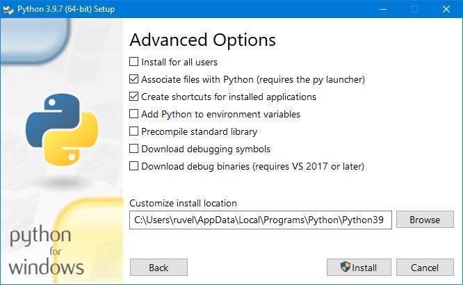 Python en Windows - 3
