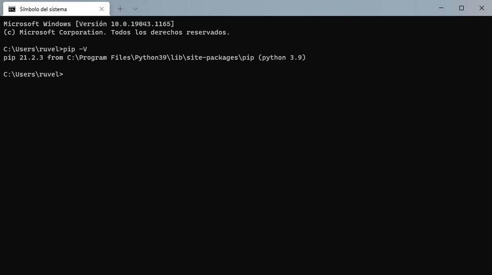 Python en Windows - 7