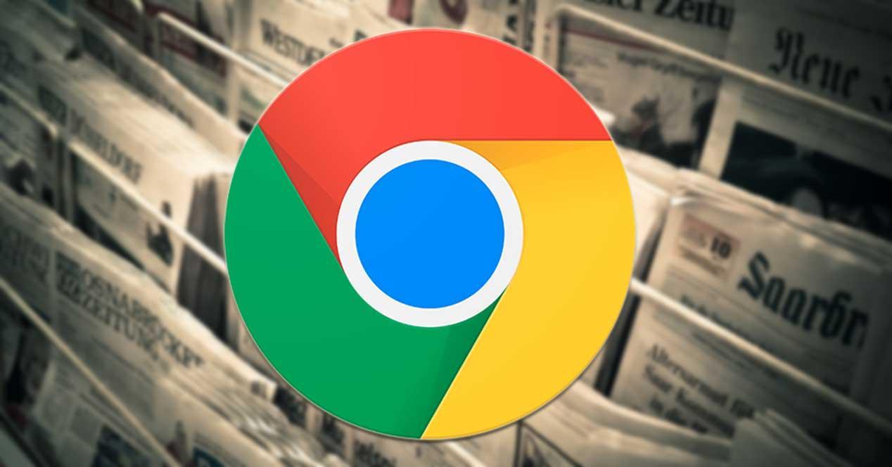 Extensiones de noticias para Chrome