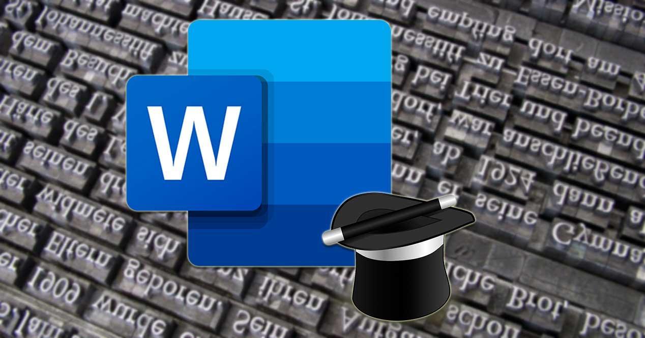 Microsoft Word función generador de texto ficticio