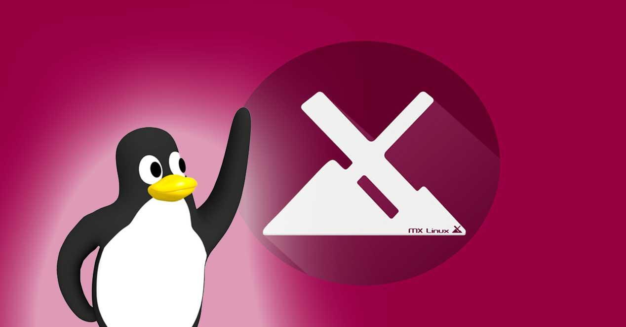 Tux Linux MX Linux