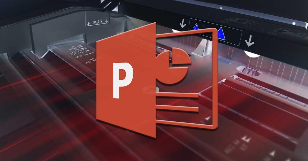 imprimir powerpoint